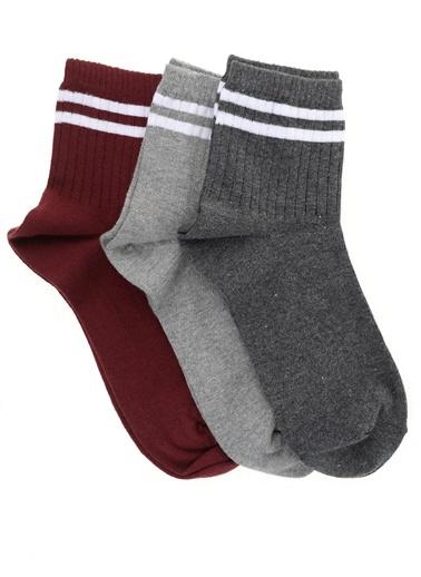 3'lü Çorap People By Fabrika